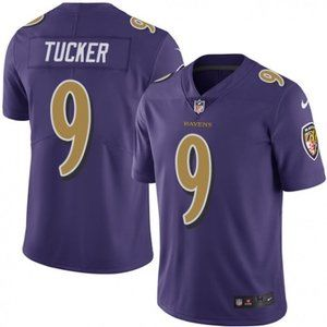 Ravens Justin Tucker Purple  Jersey